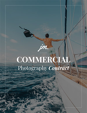 Boudoir photography contract cover page